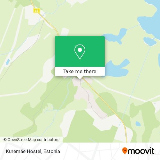 Kuremäe Hostel map