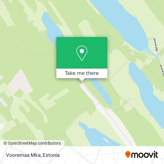 Vooremaa Mka map