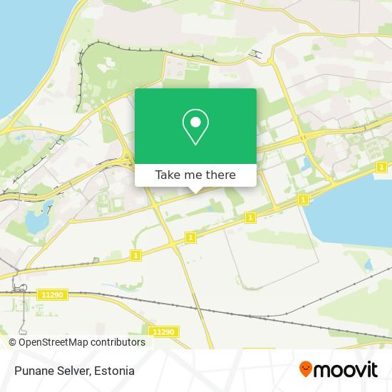 Punane Selver map