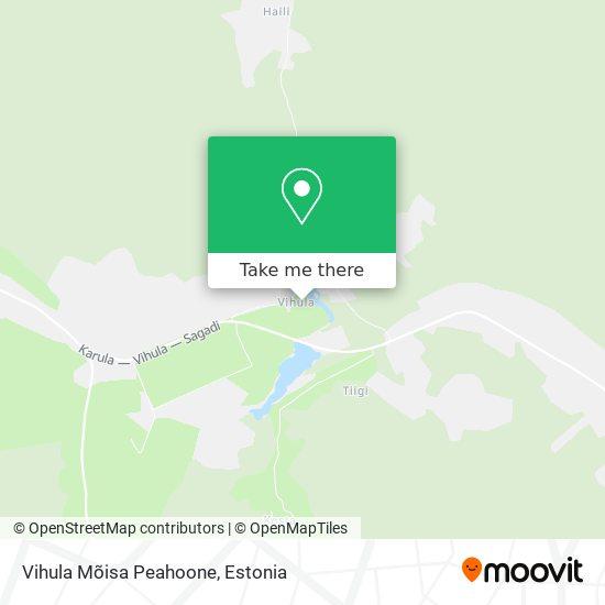 Vihula Manor map