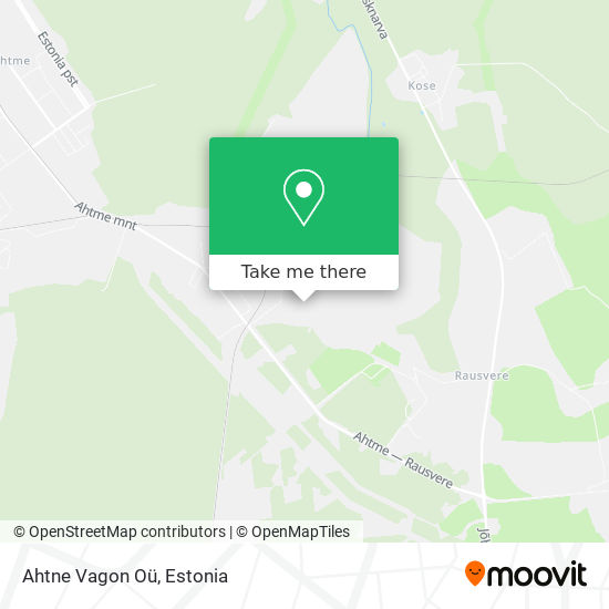 Ahtne Vagon Oü map