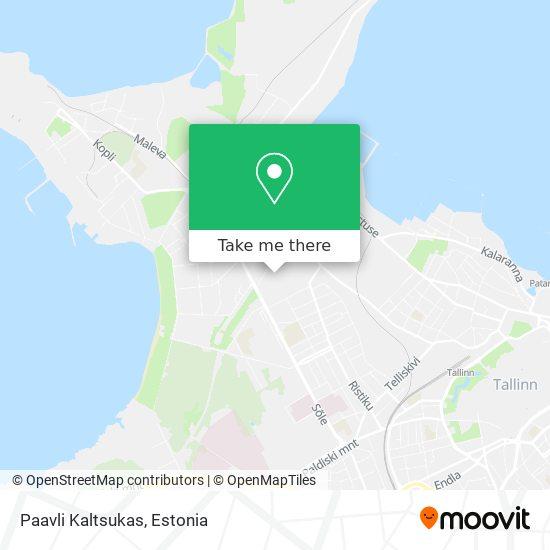 Paavli Kaltsukas map
