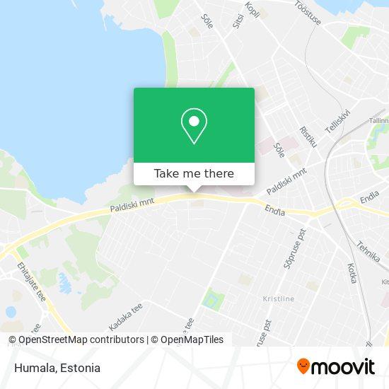 Humala map
