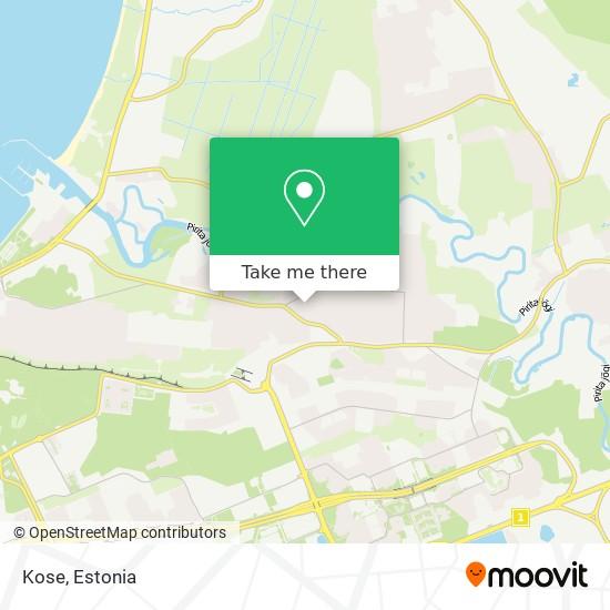 Kose map