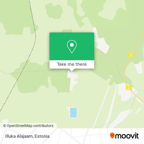 Illuka Alajaam map