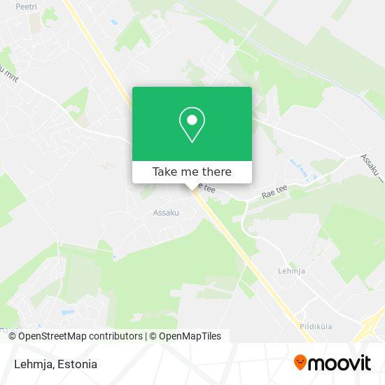 Lehmja map