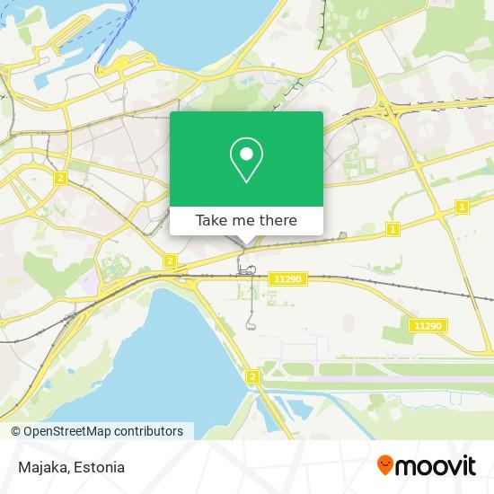 Majaka map