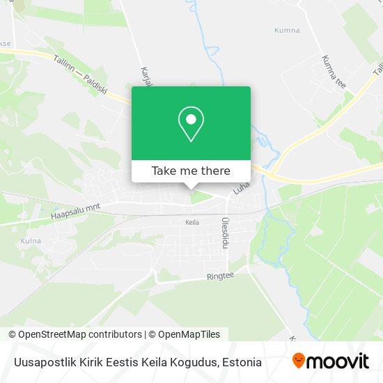 Uusapostlik Kirik Eestis Keila Kogudus map