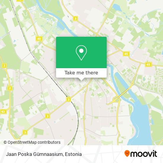 Jaan Poska Gümnaasium map