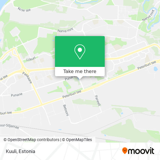 Kuuli map