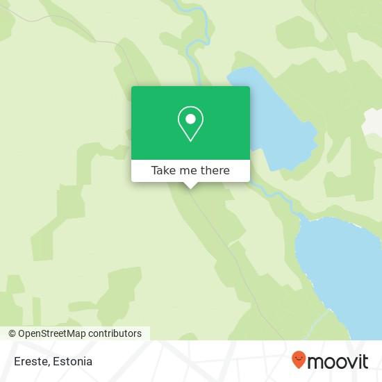 Ereste map