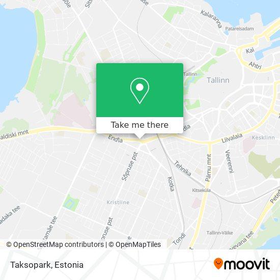 Taksopark map