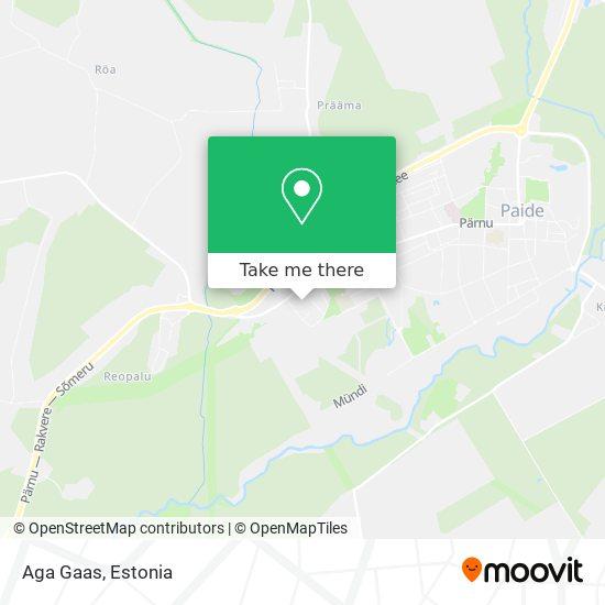 Aga Gaas map