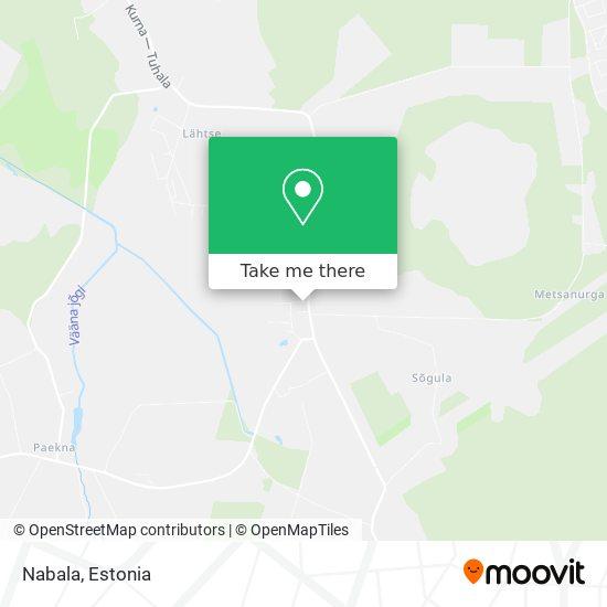 Nabala map