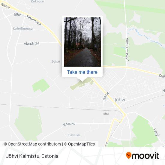 Jõhvi Kalmistu map