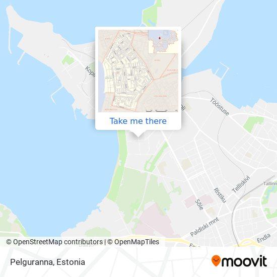 Pelguranna map