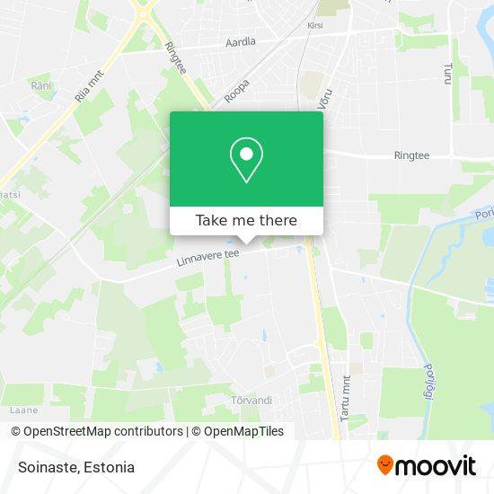 Soinaste map