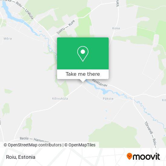 Roiu map