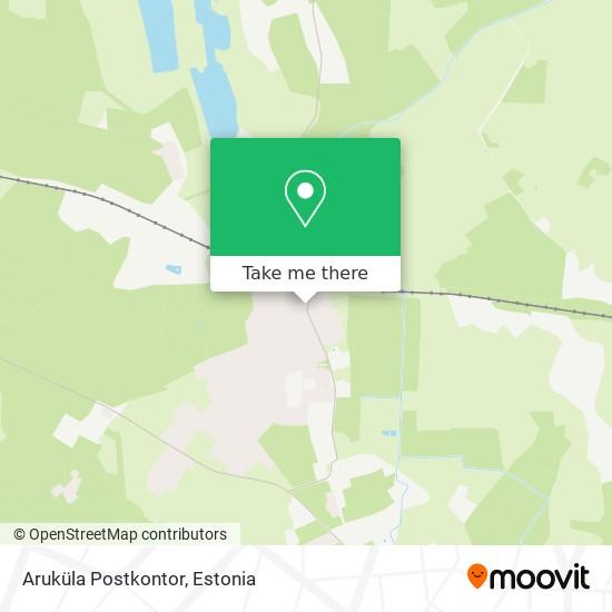 Aruküla Postkontor map