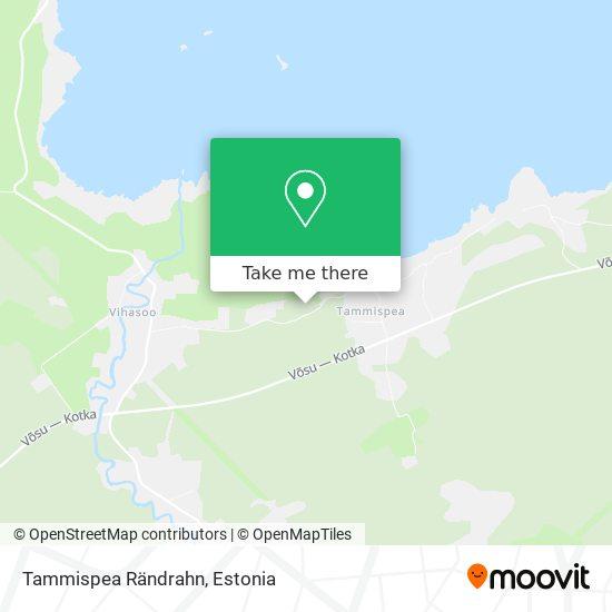 Карта Tammispea Rändrahn