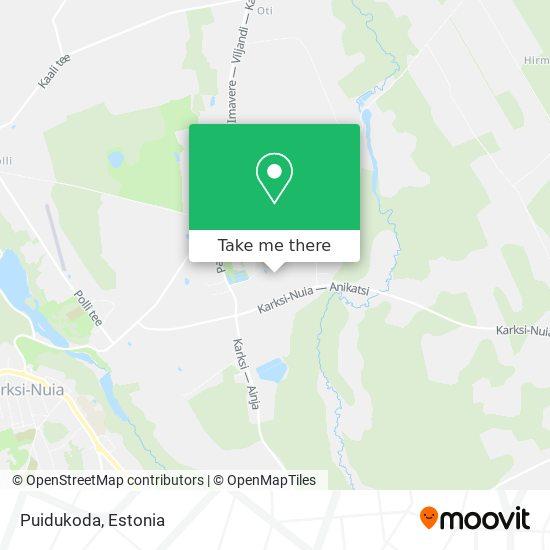 Puidukoda map
