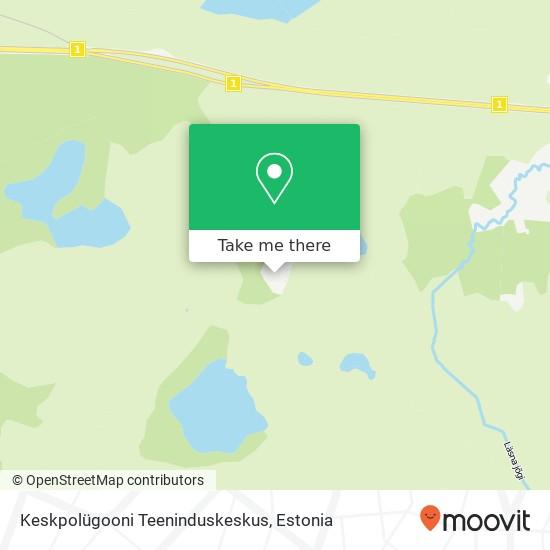 Keskpolügooni Teeninduskeskus map