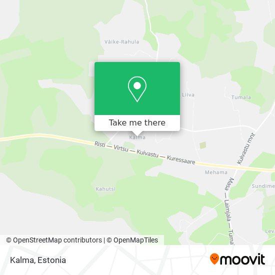 Kalma map