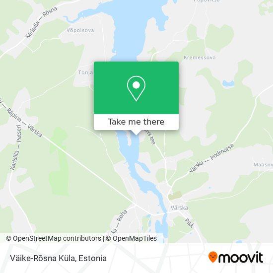 Väike-Rõsna Küla map