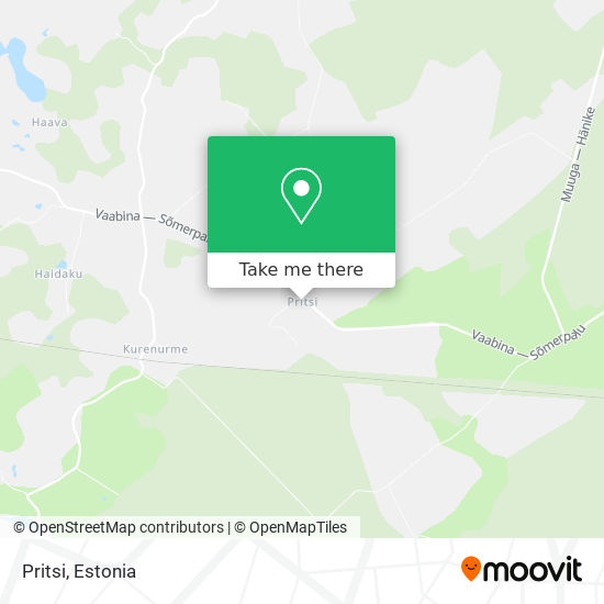 Pritsi map