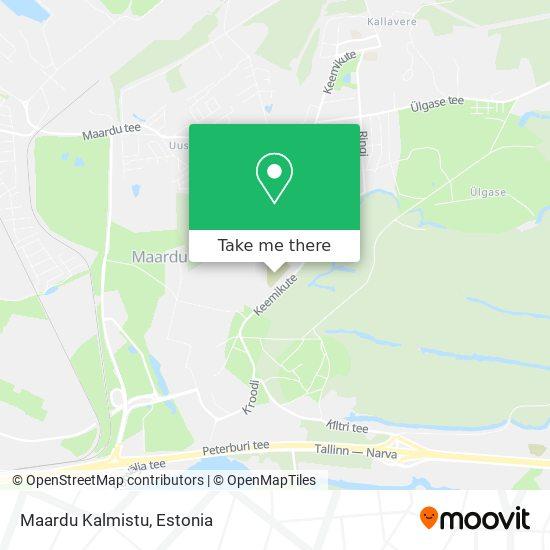 Maardu Kalmistu map