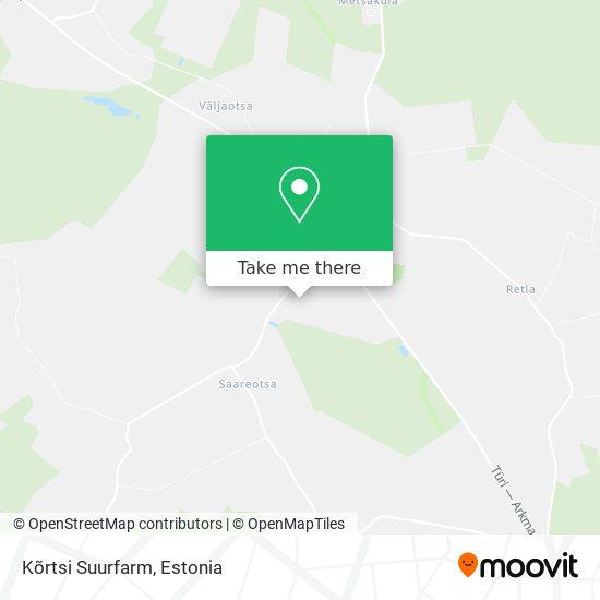 Kõrtsi Suurfarm map