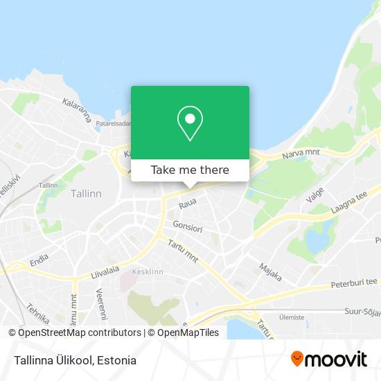 Tallinna Ülikool map