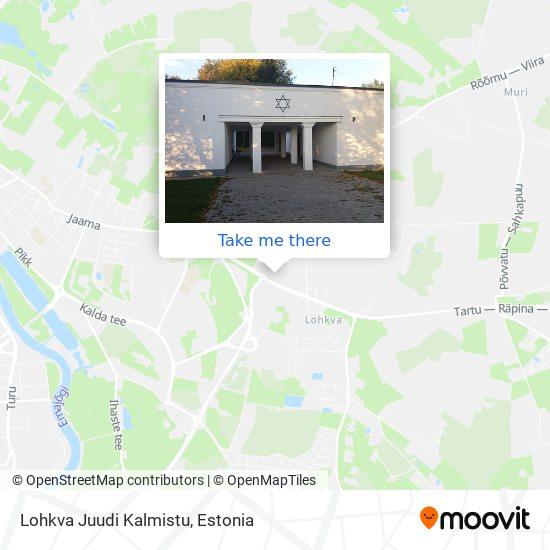 Lohkva Juudi Kalmistu map