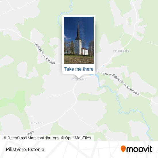 Pilistvere map