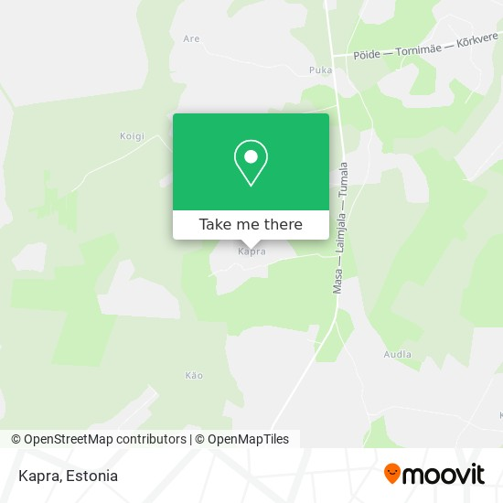 Kapra map