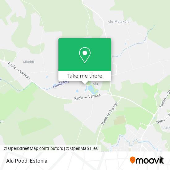 Alu Pood map