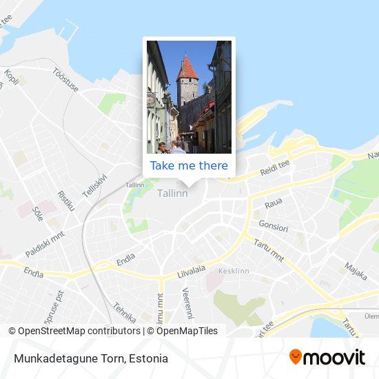 Munkadetagune Torn map