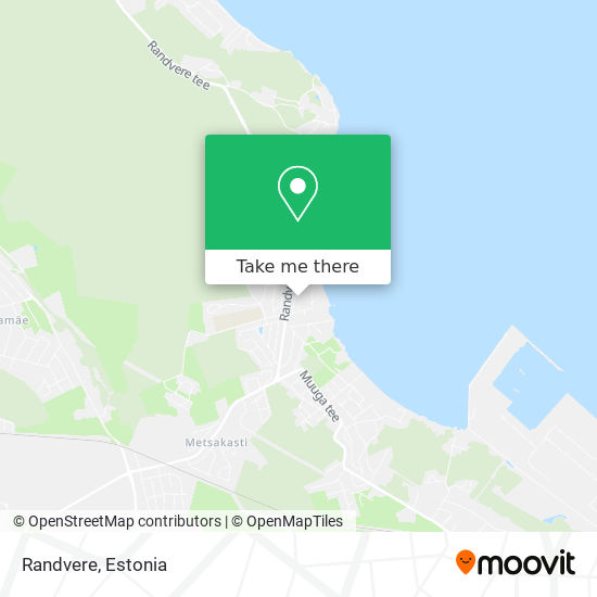 Randvere map
