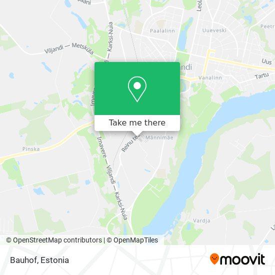 Bauhof map