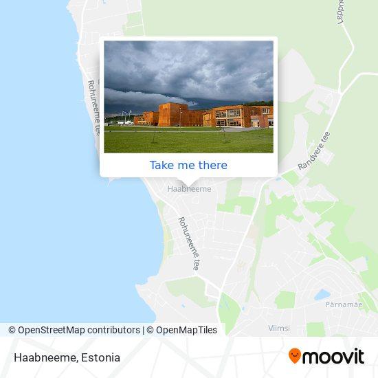 Haabneeme map