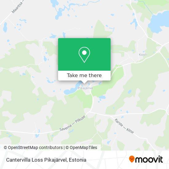 Cantervilla Loss Pikajärvel map