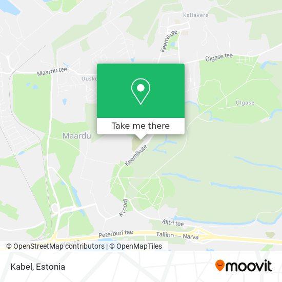 Kabel map
