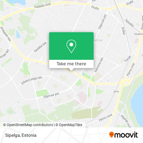Sipelga map