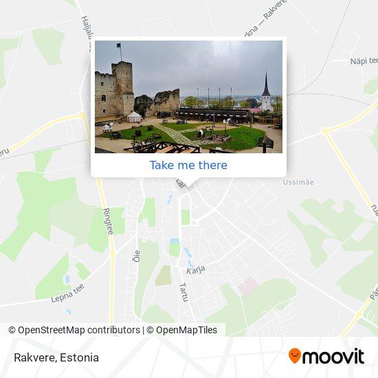 Rakvere map