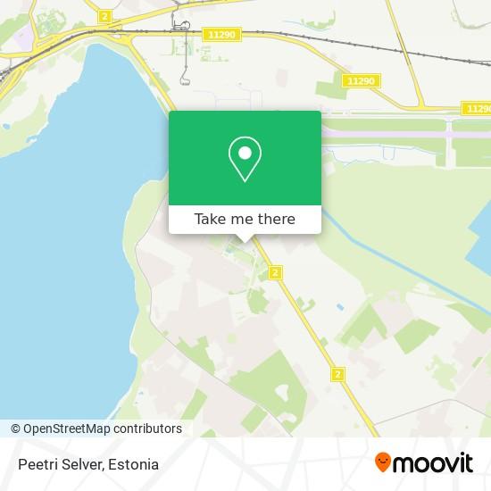 Peetri Selver map