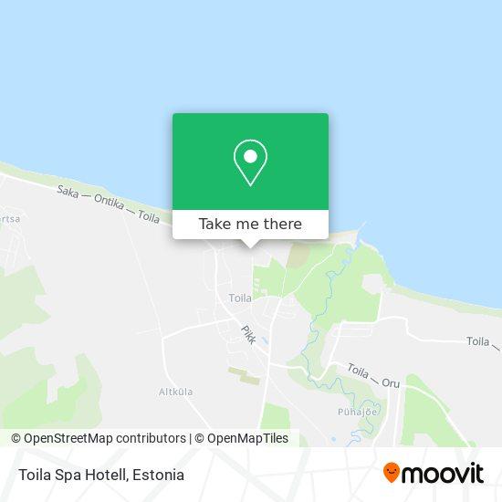 Toila Sanatoorium As map