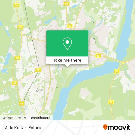 Aida Cafe map