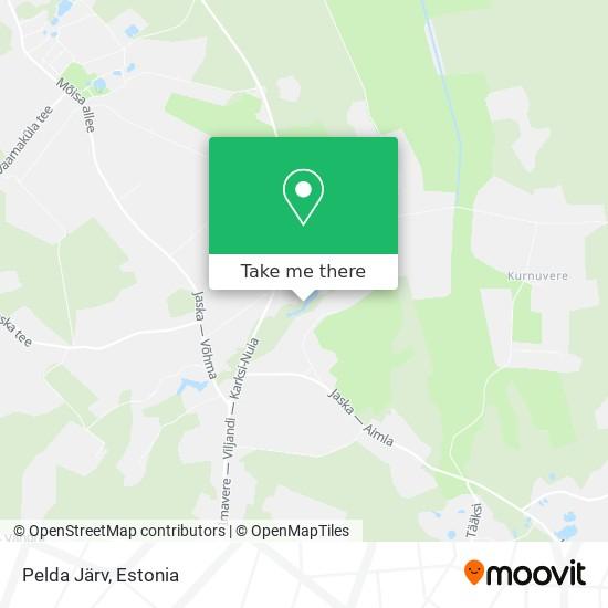 Pelda Järv map