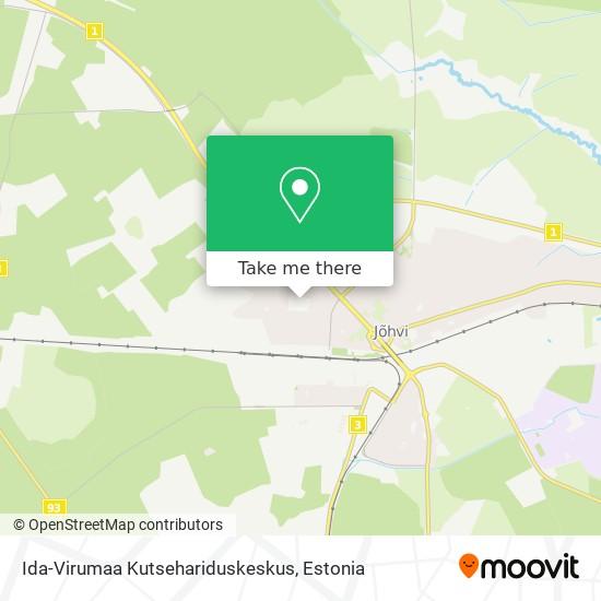 Ida-Virumaa Kutsehariduskeskus map