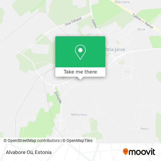 Alvabore Oü map